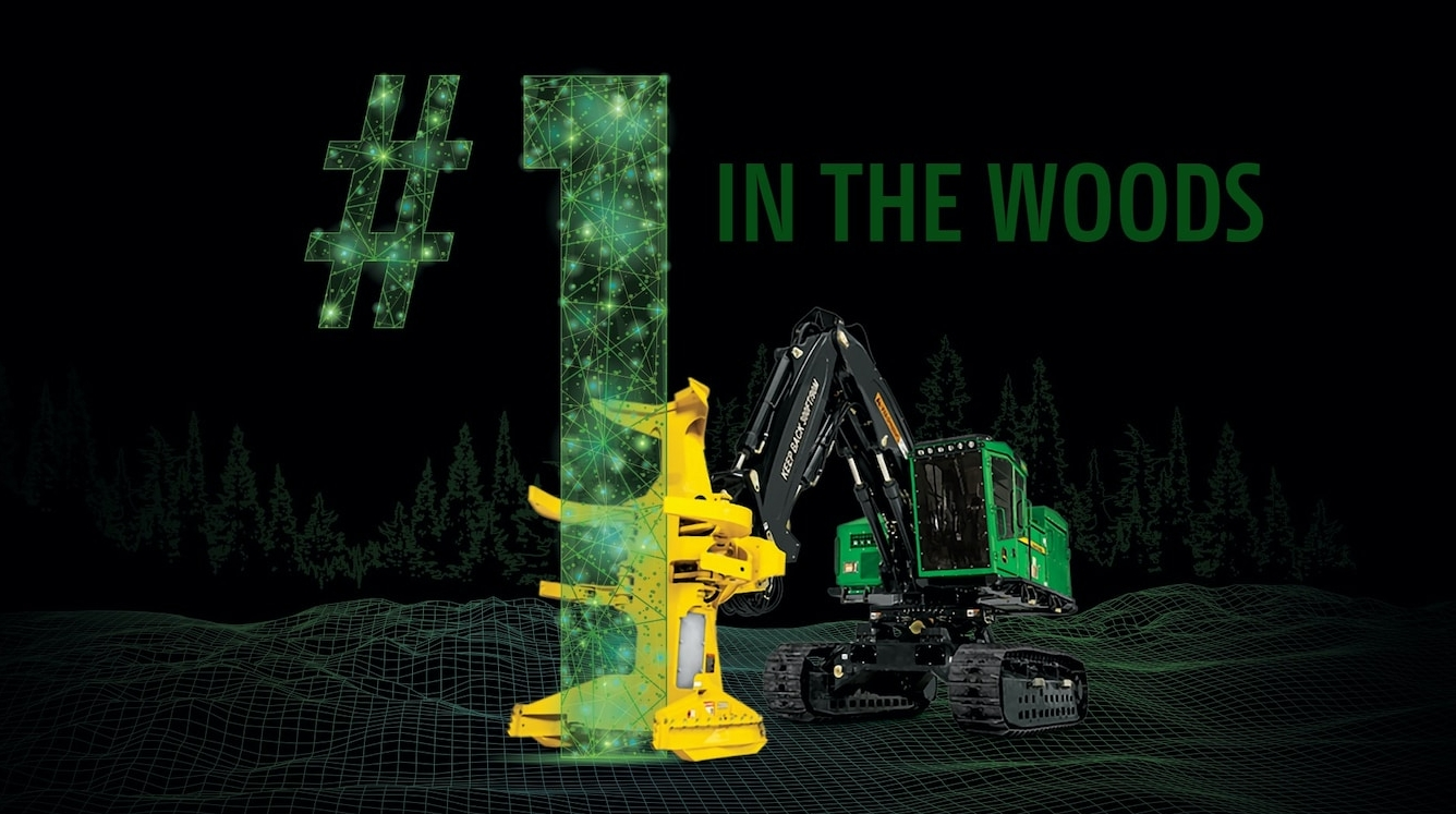 John Deere introduces its Precision Forestry Technology Initiative